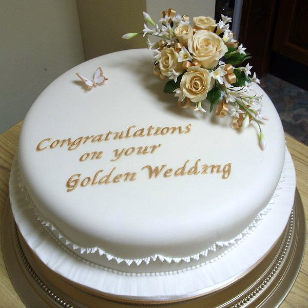 Cake Decorating Ideas For Golden Wedding : North Devon Cantel Cakes Seasons